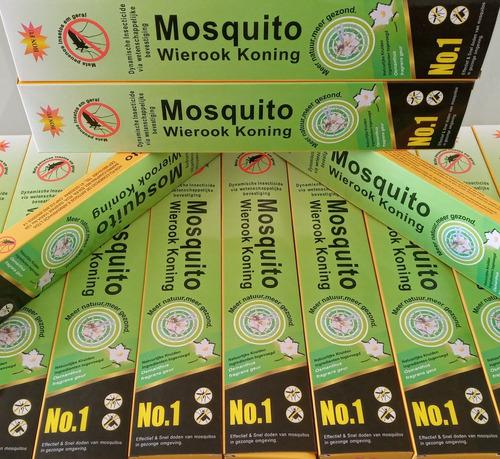 Incenso Mosquito Wierook Koning 10 Caixas Env. 24hs