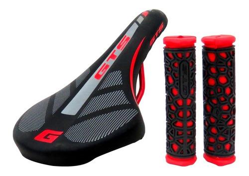 Banco Selim Gts Bicicleta Mtb Speed Exotic Cores + Manopla