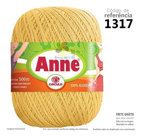 Linha La Para Croche Trico Anne Circulo 500m 1317 Natal Ac