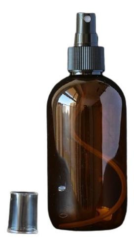 Envase Plástico Omega Ambar X 250cc C Atomizador Spray X 10u