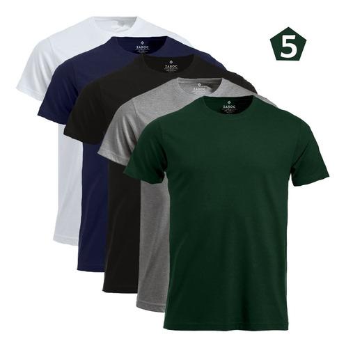 Kit 5 Camisetas Masculinas Roupa Atacado Entrega Rápida