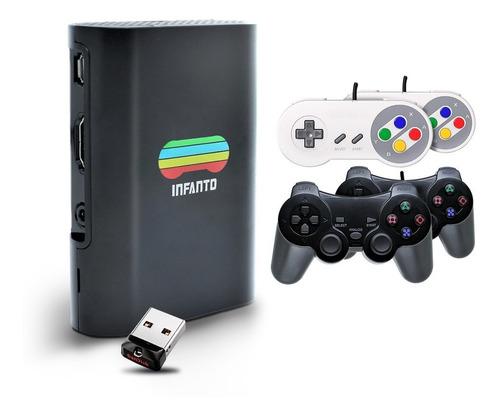 Infanto 3 Vídeo Game Retrô 4 Controles + Pen Drive 32gb