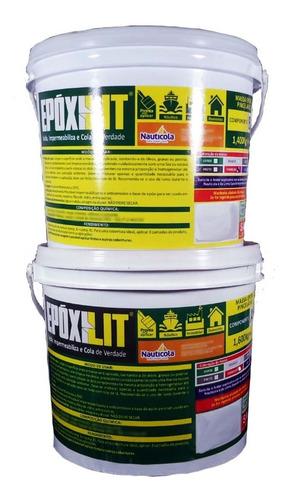 Resina Epoxilit Massa Pincelável Impermeabilizante 3,1kg