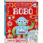 Faça O Seu Próprio Robô Com Mais De 20 Peças Ler E Brincar