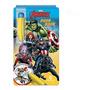 Livro Colorir Com Água Aqua Book Vingadores Avengers Marvel