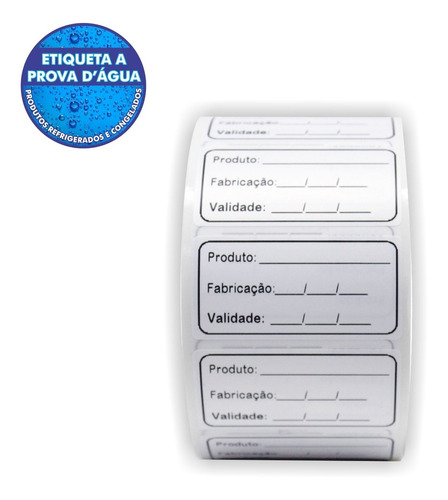 Etiqueta Anvisa Validade De Alimento Bopp 60x30 - Milheiro