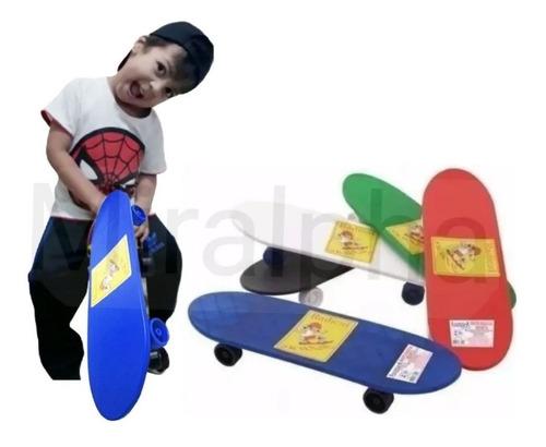 Skate Infantil Jr Radical Plástico Iniciante Menino E Menina