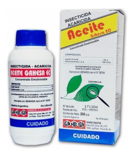 Aceite Emulsionado, Para Combatir Cochinilla 500cm3. Grande