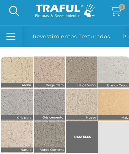 Revestimiento Plástico Texturado. Material Y Mano De Obra.