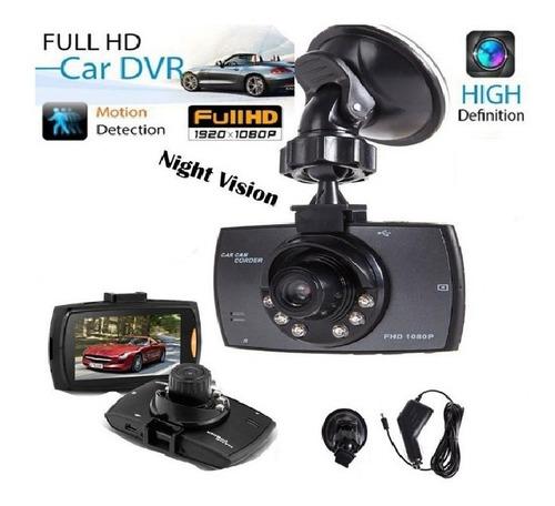 Câmera Dvr Veicular Filmadora Automotiva Carro 1080p Led