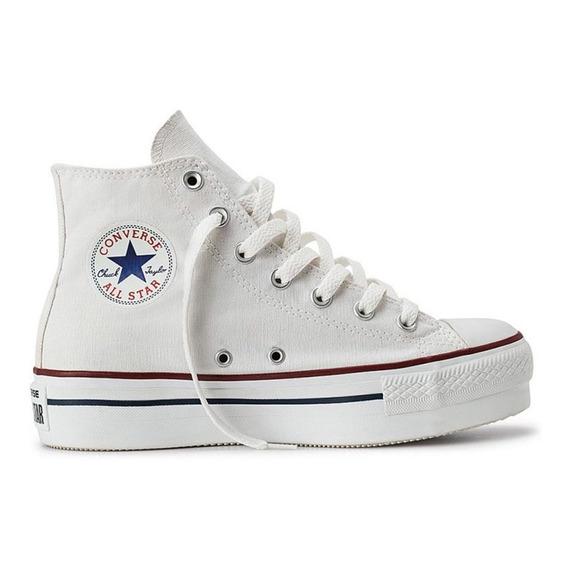 Zapatillas Converse Chuck Taylor All Star Plataforma Lona Bl