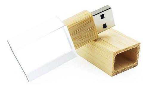 Pen Drive Vidro Eco 8gb Kit 05 Uni.