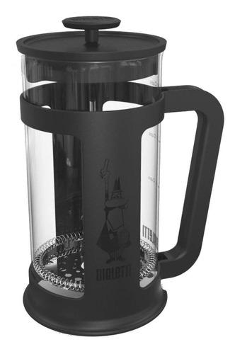 Cafetera Bialetti Smart 8 Cups Manual Negra Prensa Francesa
