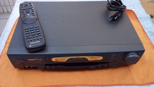 Vídeo Cassete Stereo Recorder Philips Turbo Driver