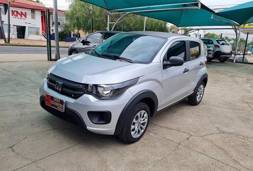 Fiat Mobi Like 1.0 Flex Prata 2021