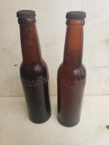 Botella Antigua De Cerveza Original 100 % Consulte