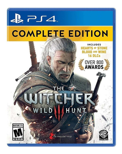The Witcher 3: Wild Hunt Complete Edition Cd Projekt Red Ps4 Físico