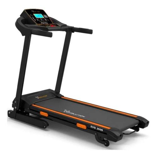 Esteira Elétrica Evolution Fitness Premium Evo 2600 110v Preta