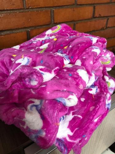 Cobertor Bebe Estampado Macio Anti Alérgico 2,00x1,80