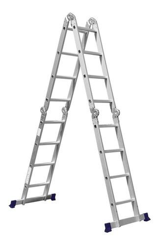 Escada De Alumínio Multifuncional Mor 5134