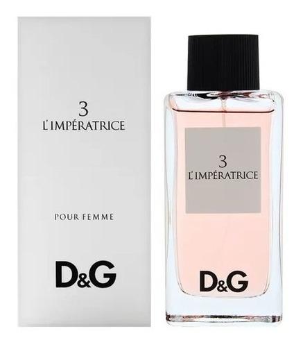 Perfume D&g L' Imperatrice Dam - mL a $1899