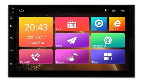Multimídia Universal Wifi Espelh. Ios Android 9.0 Gps Igo