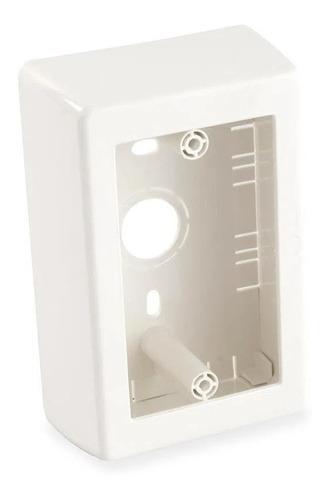 Caja Adosable Modular Plástica 4x2 Material Pvc Oferta