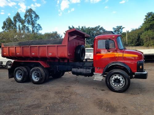 Caminhão Truck Caçamba Mb 1318 Ano89