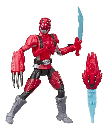 Figura Power Rangers Beast Morphers Red Ranger Fury Mode