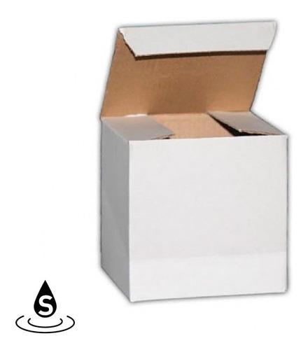 Pack X 10 Cajas Blancas Para Jarros O Tazas