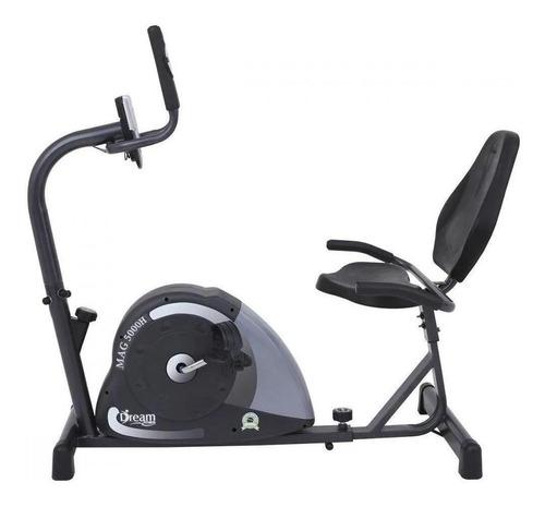 Bicicleta Ergométrica Horizontal Dream Fitness Mag 5000h Chumbo