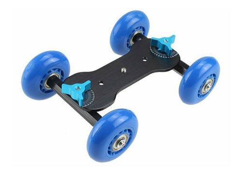 Dolly Tipo Skate Patineta Para Video Dslr Nikon Canon Sony