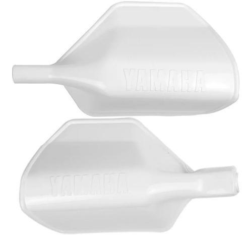 Protetor De Mão Par Dt 200 Xt 600 Tenere Branco Paramotos