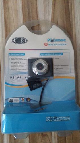 Webcam Horbi Hb-209 Usb 2.0 8 Mega Pixels