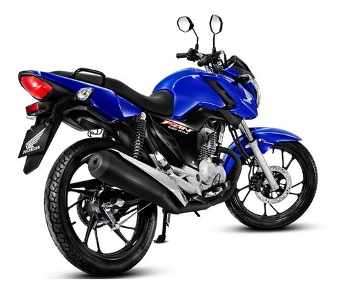 Honda Cg 160 Fan Cbs 2022