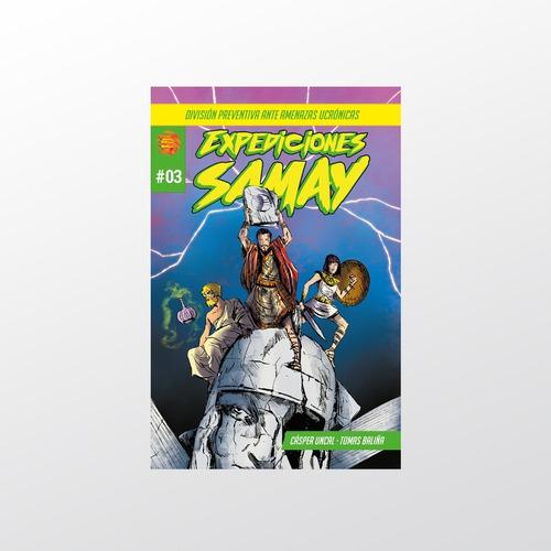 Expediciones Samay #3 - Samay Comics - Tierra Prima