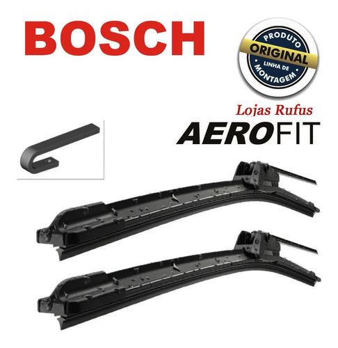 Palhetas Silicone Parabrisa Limpador Aerofit Original Bosch