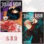 Jujutsu Kaisen A Batalha De Feiticeiros 1 E 2! Panini! Novo