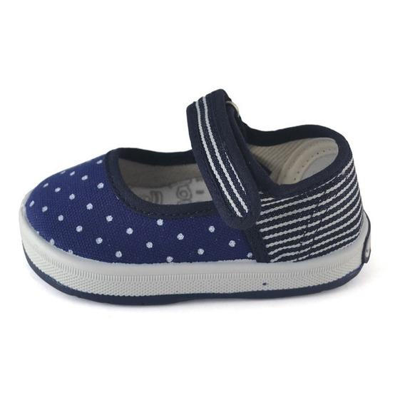 Guillermina Bebe Azul Combinada Small Shoes