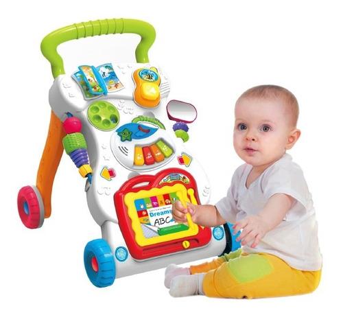Andador Didatico Atividades Brinquedo Musical Baby Style
