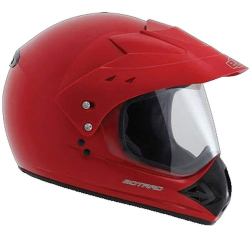 Capacete Moto Ebf Motard Solid Preto Motocross Off Road Nf