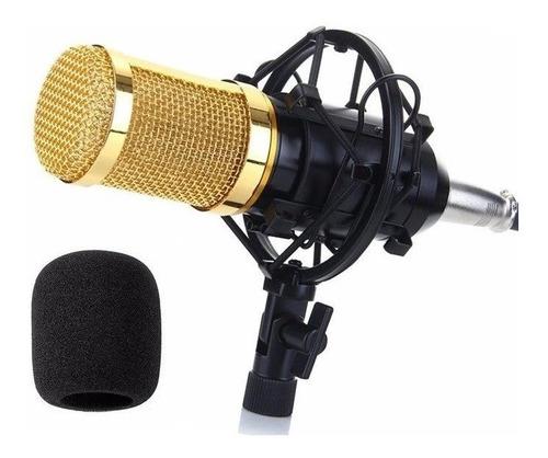 Microfone  Estúdio Profissional Condensador Andou Bm +800
