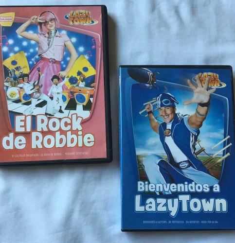 Dvd Lazytown X 2.originales! Excelente Estado! Muy Poco Uso