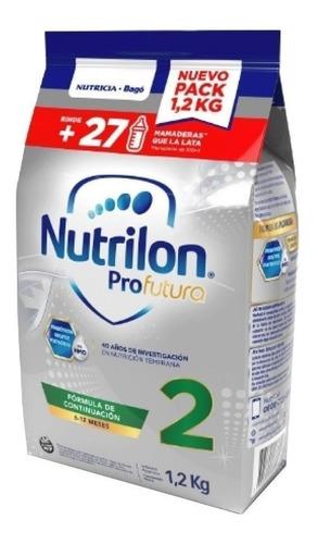 Leche De Fórmula En Polvo Nutricia Bagó Nutrilon Profutura 2 En Bolsa 1.2kg