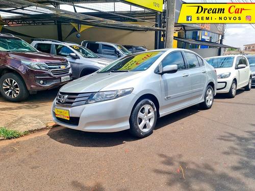 Honda City Lx 1.5 Prata 2010