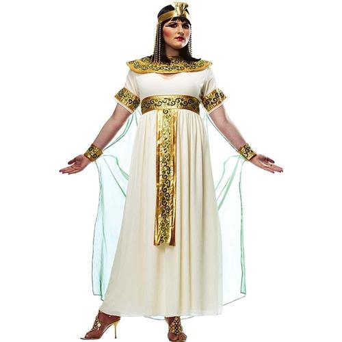 Traje De Cleopatra - X-large - Tamaño De Vestido 16-18