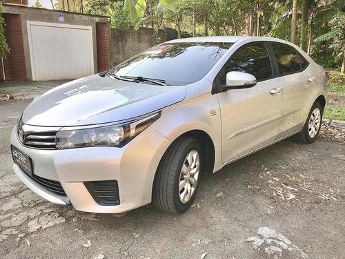 Toyota Corolla 1.8 Gli Vvt-i Automático Flex 2016 Prata