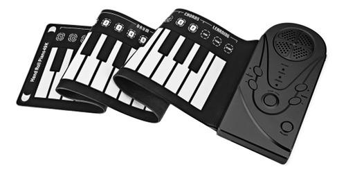 Teclado Usb De Borracha Flexível De 49 Teclas Music Piano