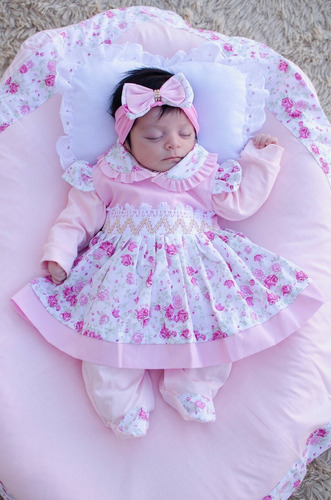Saída De Maternidade Menina Sophia 5 Peças Cor 4