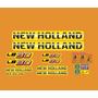 Adesivo Retroescavadeira New Holland Lb90 Lb 90 Completo Mk
